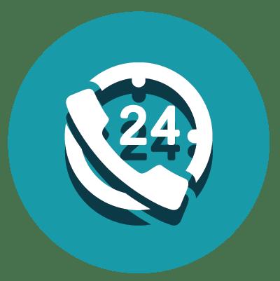 24 timers hotline - hjælp til robotter